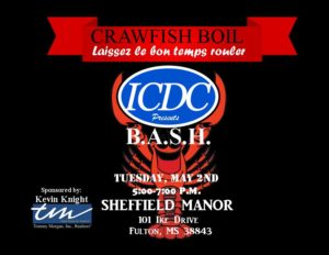 ICDC B.A.S.H. Crawfish Boil @ Sheffield Manor | Grandy | North Carolina | United States