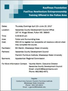 Entrepreneurship Workshop @ ICDC Boardroom | Fulton | Mississippi | United States