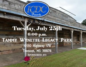ICDC B.A.S.H. Event-Tammy Wynette Legacy Park @ Tammy Wynette Legacy Park | Olive Branch | Mississippi | United States