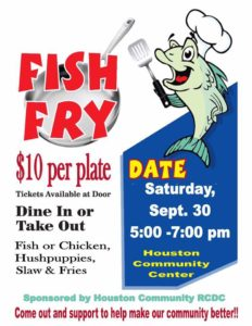 Houston Community Center Fish Fry @ Houston Community Center