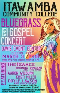 ICC Bluegrass and Gospel Concert @ Davis Event Center