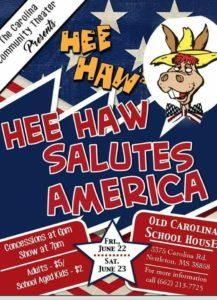 Hee Haw Salutes America @ Carolina Schoolhouse   Nettleton   Mississippi   United States
