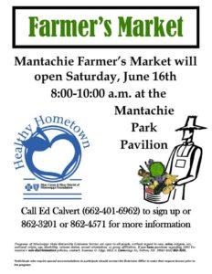 Mantachie Farmer's Market @ Mantachie Park