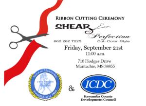 Shear Perfection Ribbon Cutting @ Shear Perfection