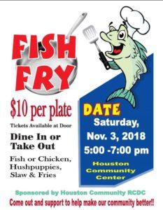 Houston RCDC Fish Fry @ Houston Community Center