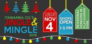 Itawamba County Christmas Open House @ City of Fulton and Town of Mantachie