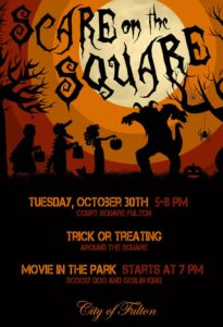 Scare on the Square @ Downtown Fulton