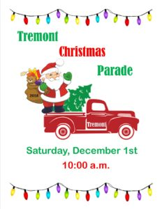 Tremont Christmas Parade @ Town of Tremont