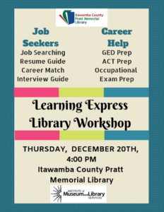 Learning Express Library Workshop @ Itawamba County Library