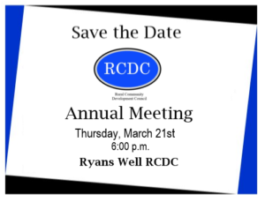 RCDC Annual Banquet @ Ryans Well RCDC
