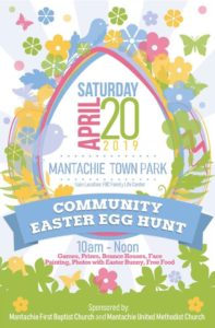 Community Easter Egg Hunt-Mantachie @ Mantachie Park