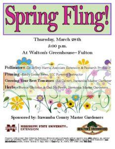 Spring Fling-Walton's Greenhouse @ Walton's Greenhouse