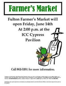 Fulton Farmers Market @ ICC Cypress Pavilion