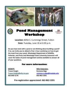 MSU Extension-Large Pond Workshop @ MSU Extension Service