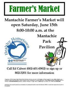 Mantachie Farmers Market @ Mantachie Park