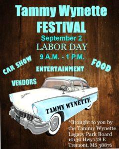Tammy Wynette Festival @ Tammy Wynette Legacy Park