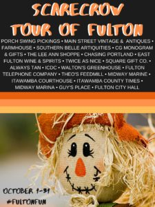 Scarecrow Tour of Fulton @ City of Fulton
