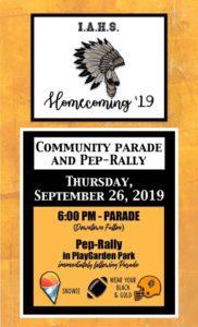 IAHS Homecoming Parade @ Downtown Fulton & Playgarden Park