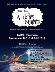 Showtime in the Arabian Nights @ IAHS Commons