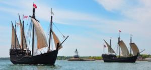 Nina and Pinta Ships @ Midway Marina