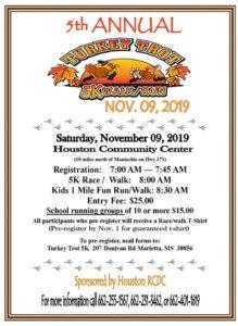 Turkey Trot 5K Walk/Run @ Houston Community Center