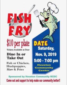 Houston Fish Fry @ Houston Community Center