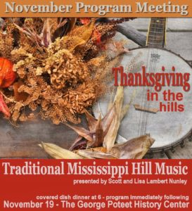 Thanksgiving in the Hills @ George Poteet History Center