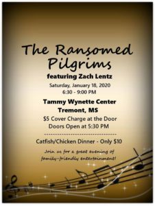The Ransomed Pilgrims feat. Zach Lentz @ Tammy Whynette Center