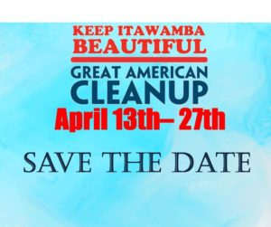 The Great American Cleanup: Keep Itawamba Beautiful @ The Itawamba County Development Council
