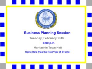 Mantachie Business Planning Session @ Mantachie Town Hall