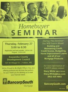Homebuyer Seminar @ The Fulton ICDC