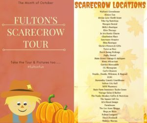 Fulton Scarecrow Tour @ 35 Locations in Town